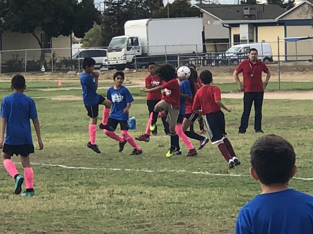 Soccer vs. Colburn