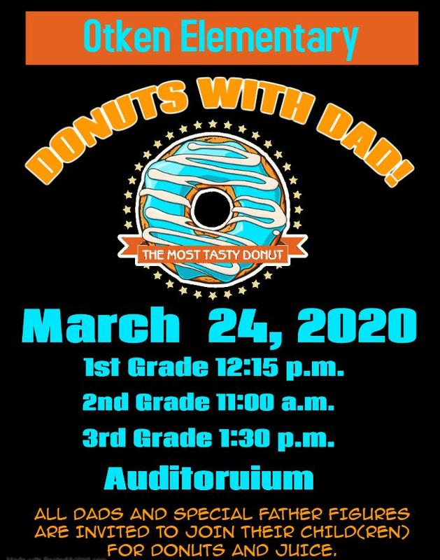Otken Elementary Donuts with Dads 2020  #ItsComeBackTime
