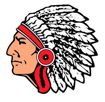 Red Raider Indian Icon