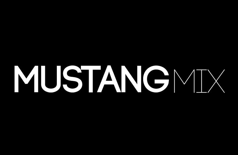 Mustang Mix logo