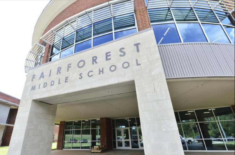 Tour of the New Fairforest Middle School Featured Photo