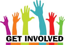 raised hands - get involved