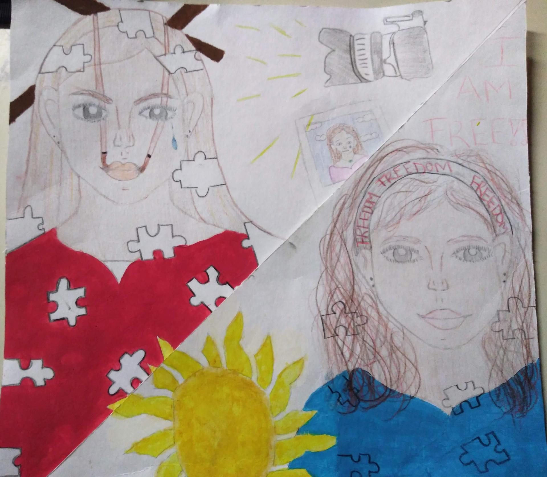 Art by Ganesha Student - 9th - 12th and Adult Transition