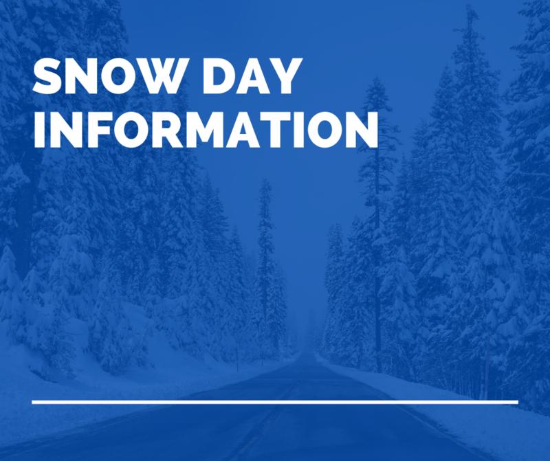 snow day information