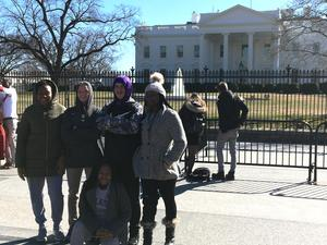 TSD Students at the White House