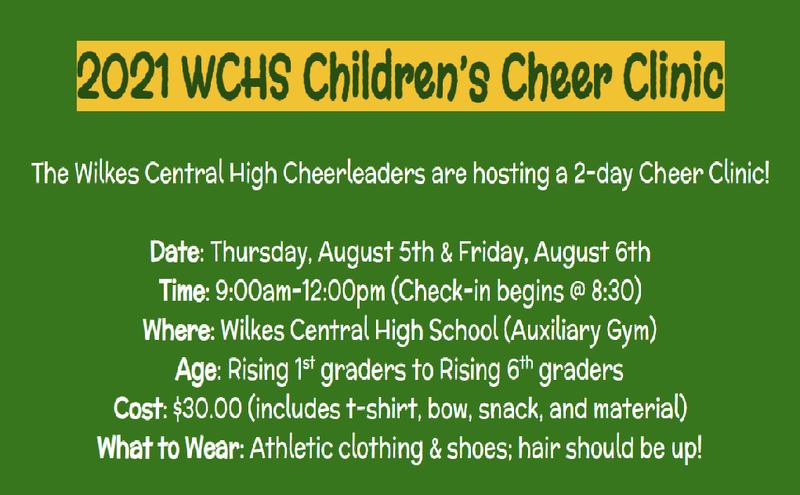2021 WCHS Children's Cheer Clinic Thumbnail Image