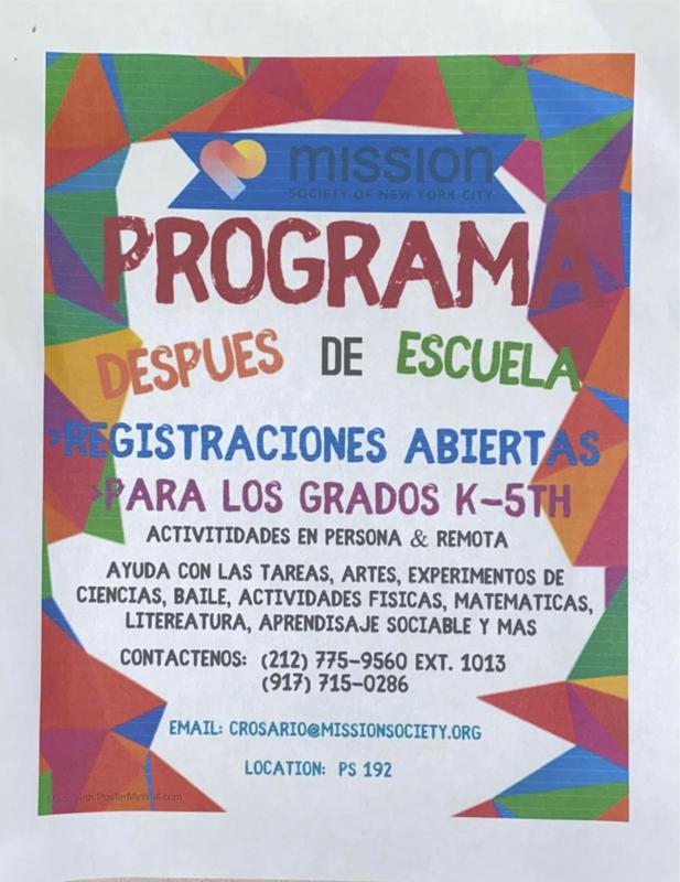 Mission Society Volante en Espanol
