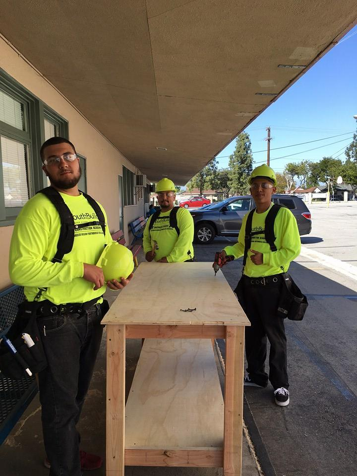Norwalk construction students