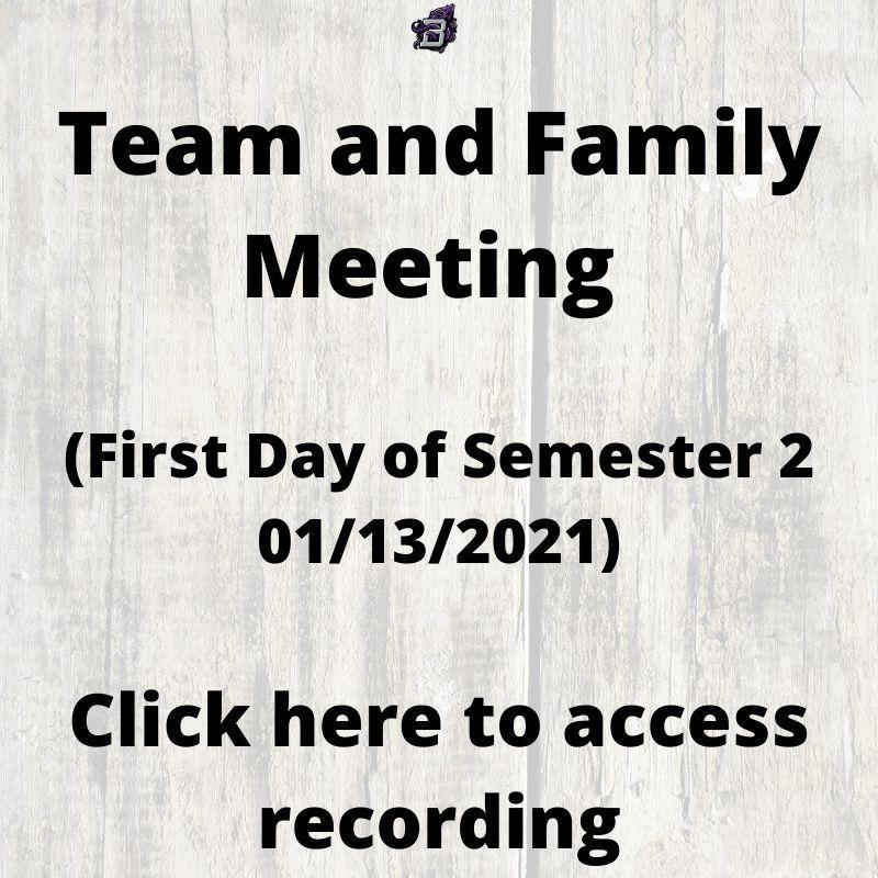 Team and Family Meeting 01.13.2021 (Click here to access recording) Thumbnail Image