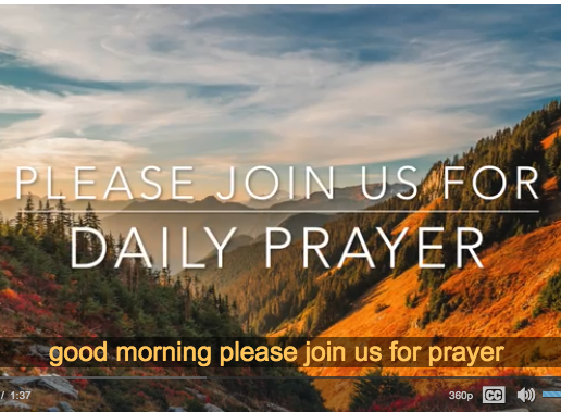 Daily Prayer Featured Photo