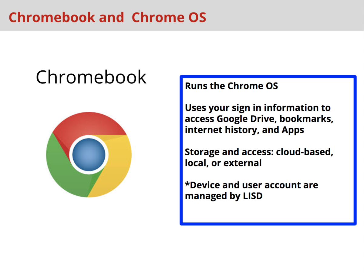 Chromebook Tips – Instructional Technology Department and Blended