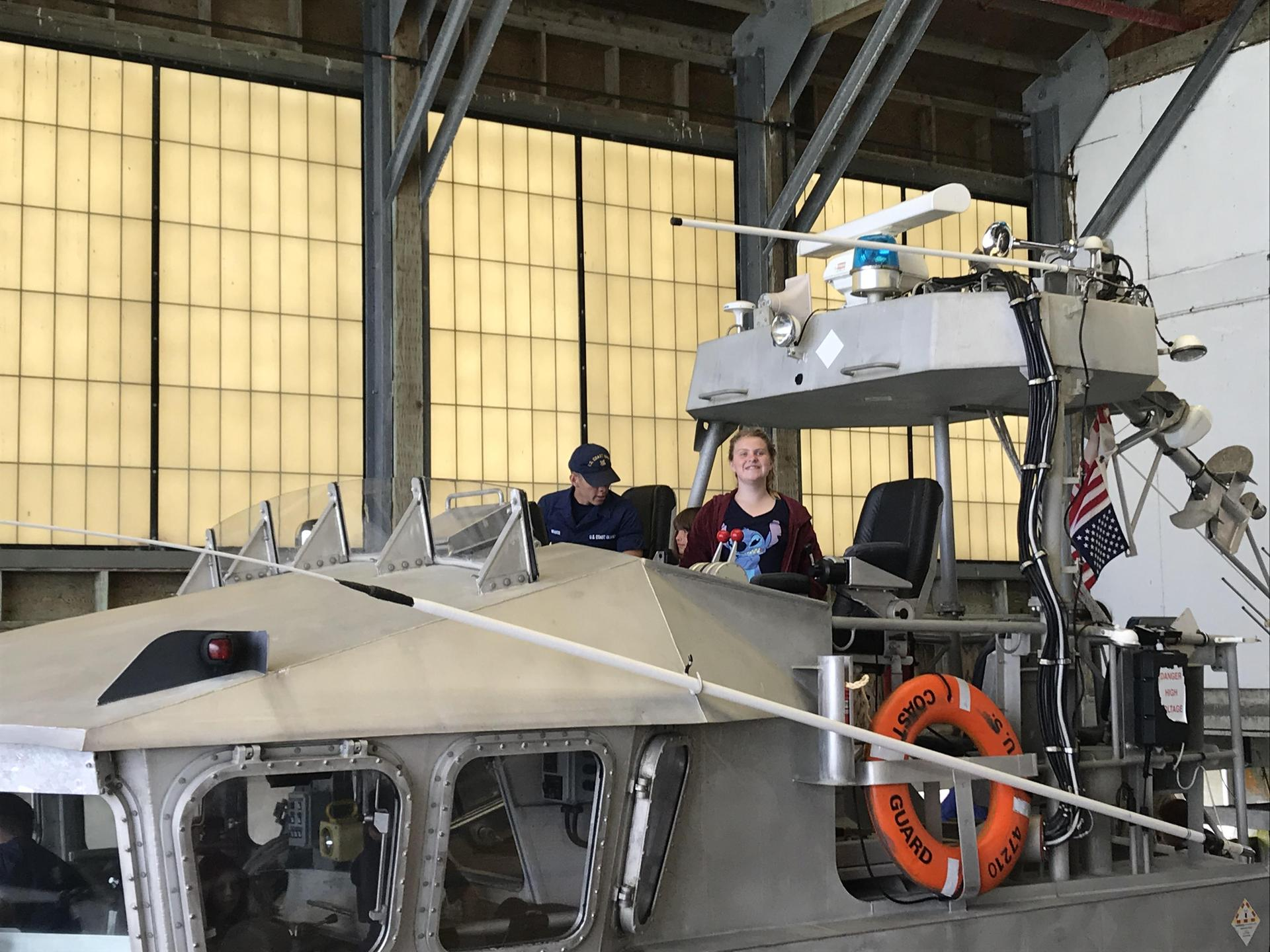 Touring the Coast Guard Small Boat Station