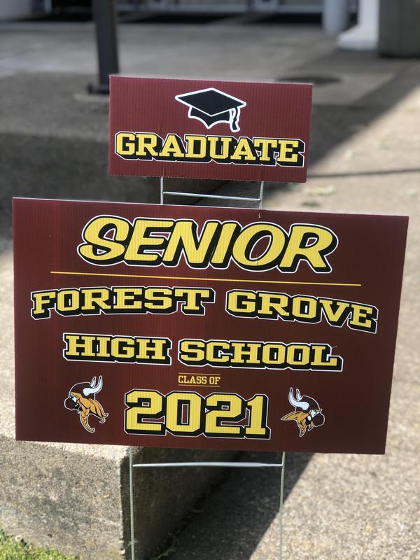 FGHS Senior Sign