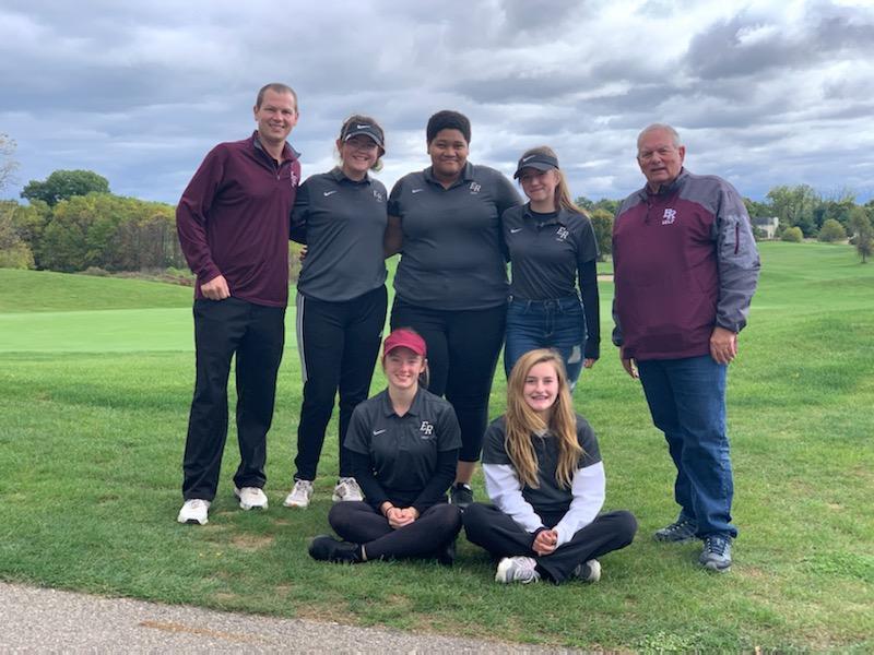 Golf team picture