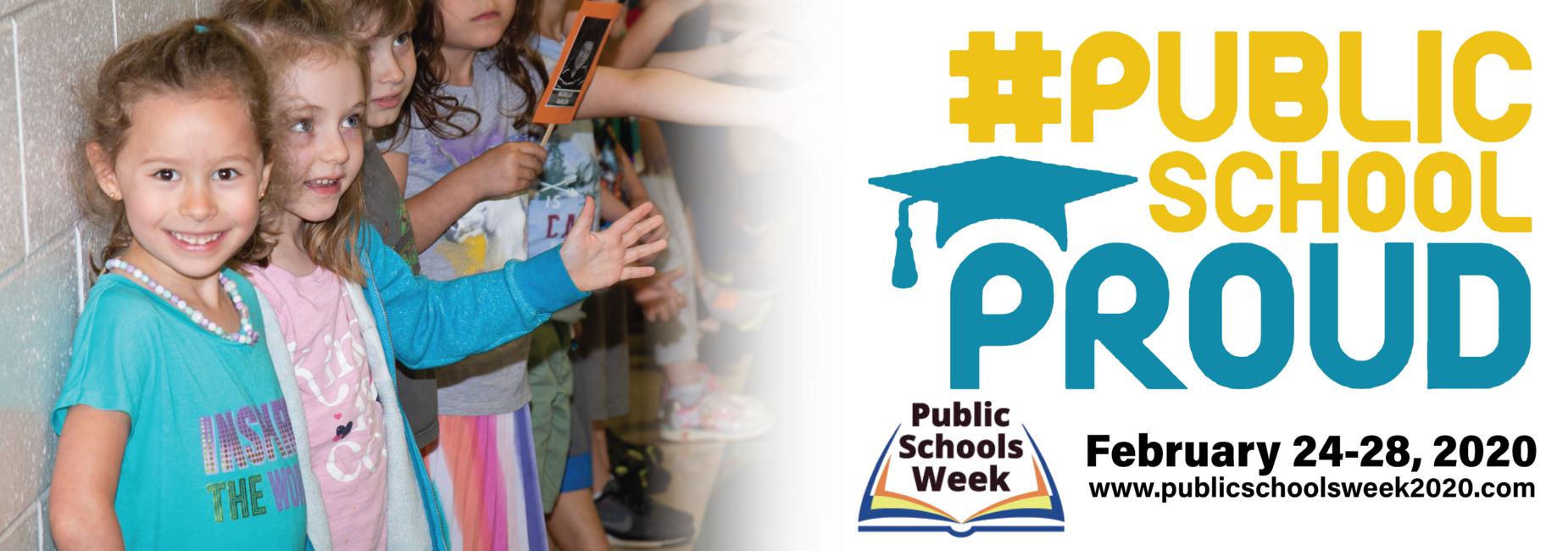 Proud to celebrate Public Schools Week 2020