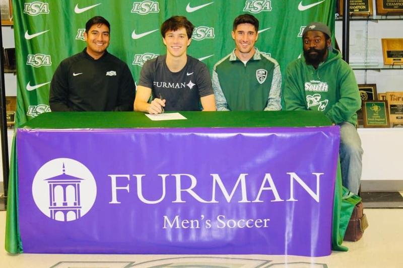 Ben Roberts, Soccer, Signs with Furman University. Thumbnail Image