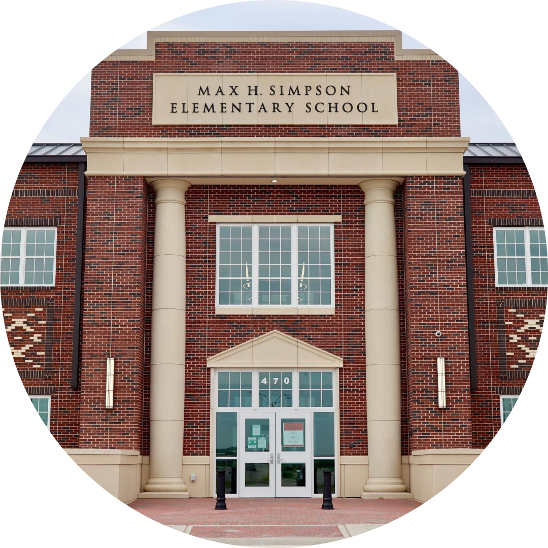 entrance to Simpson Elementary