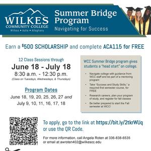 WCC Summer Bridge Program