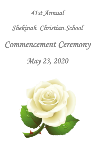 Class of 2020 Commencement Ceremony Program Thumbnail Image