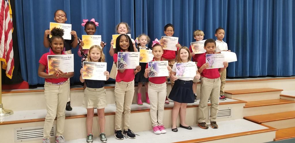 3rd Term Awards  - 1st Grade