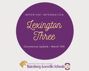 Coronavirus Update - March 15th
