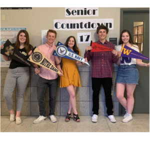 WVHS students for Career Article