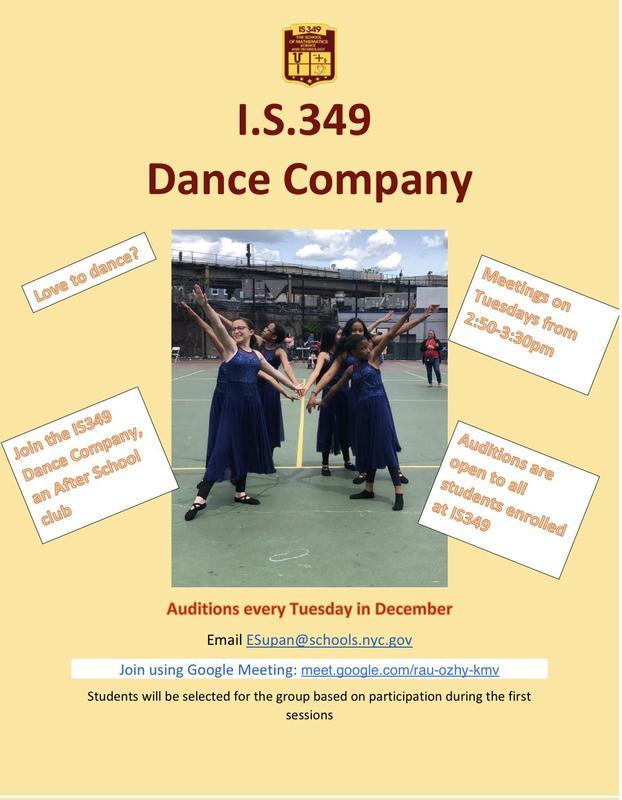 IS349 Dance Company