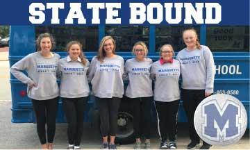girls golf statebound