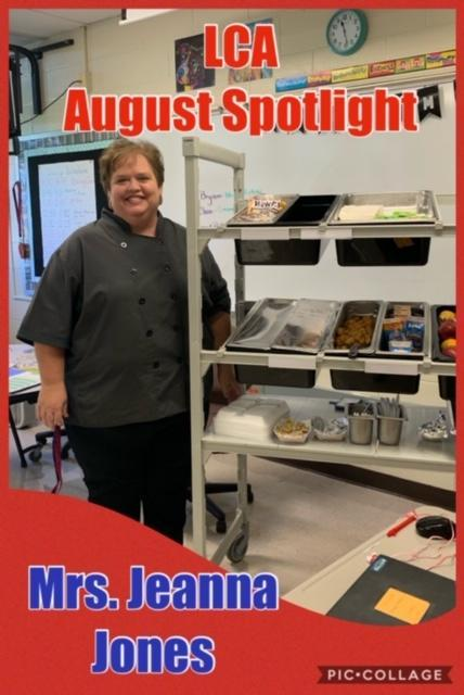 Jeanna Jones Cafeteria Manager