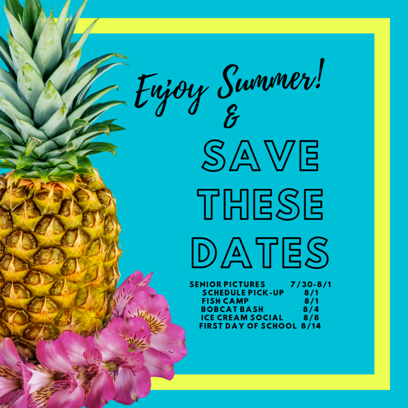 Save these Dates! Thumbnail Image