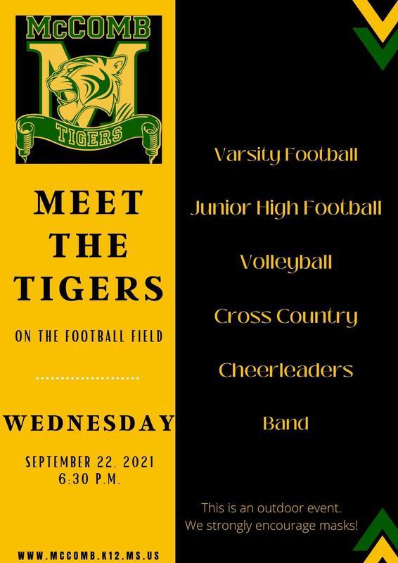 McComb High School Meet The Tigers 2021