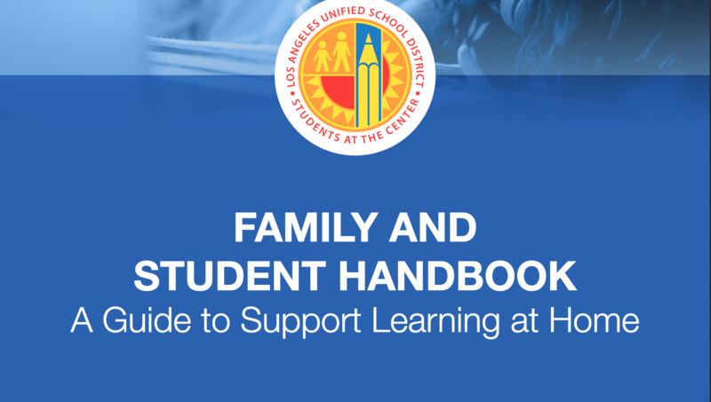 LOS ANGELES UNIFIED SCHOOL DISTRICT PARENT STUDENT HANDBOOK Featured Photo