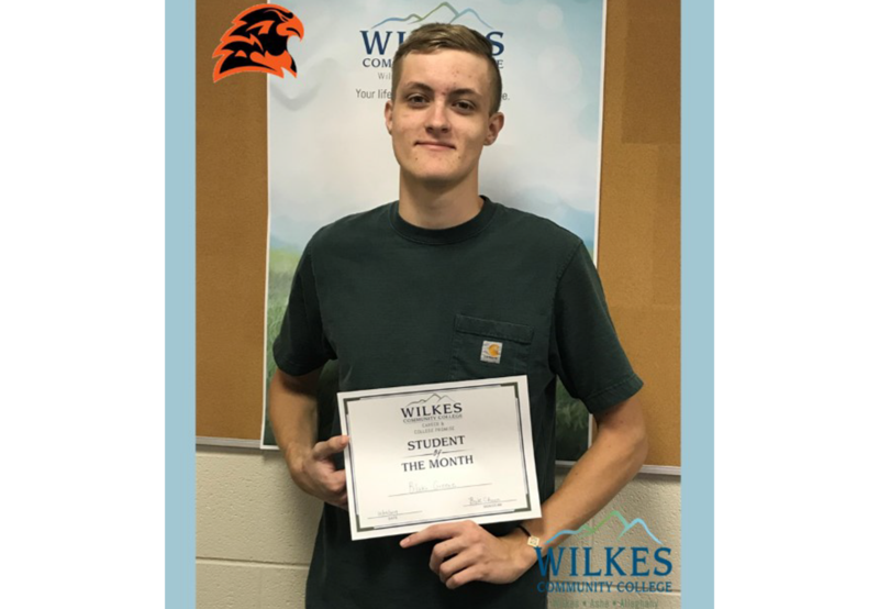 CCP Student of the Month: October  Congratulations Blake G. West Wilkes High School Thumbnail Image
