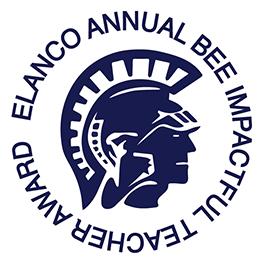 Bee Impactful Teacher Award Logo