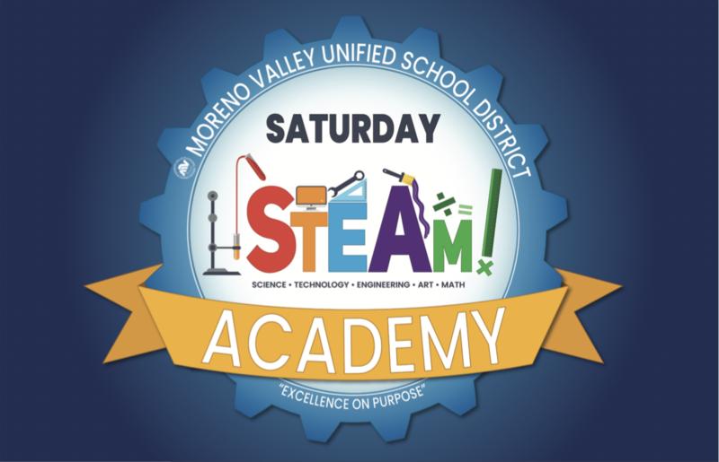 MVUSD Saturday STEAM Academy Logo