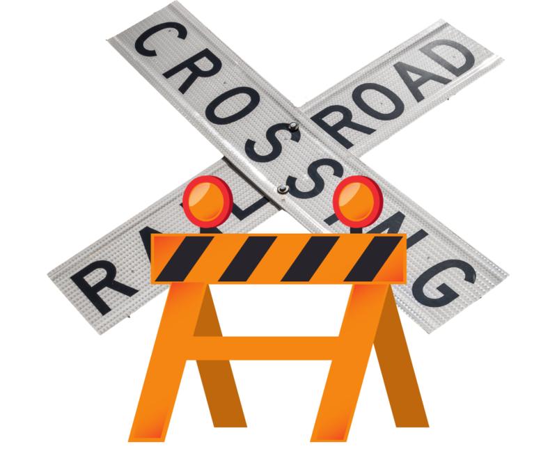 Railroad Crossing Closed