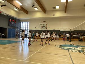 DMS Girls Volleyball Versus Acacia