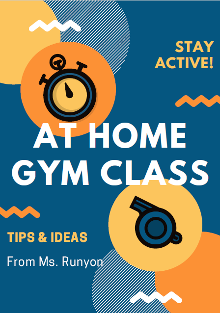 At Home Gym Class Ideas from Ms. Runyon Thumbnail Image