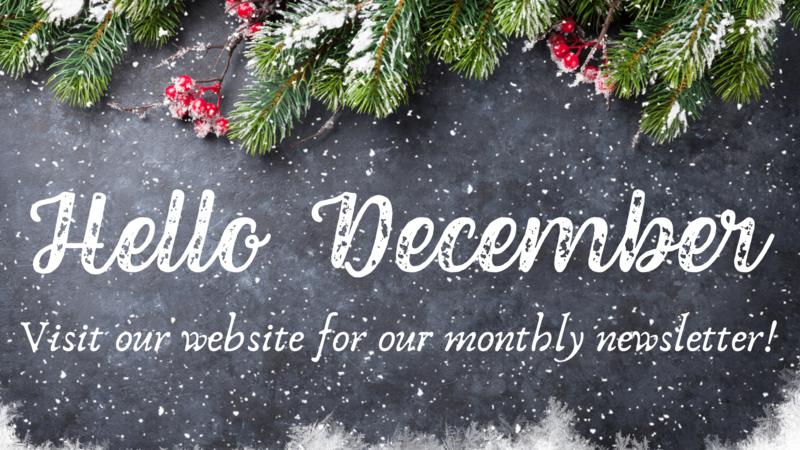December Newsletter / Boletin de Diciembre Thumbnail Image