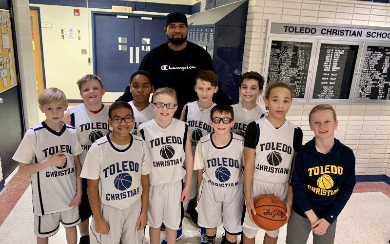 Jr. boys basketball