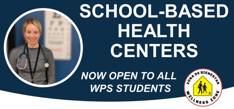 School-Based Health Center now open to all students - Schedule an appointment today! Thumbnail Image