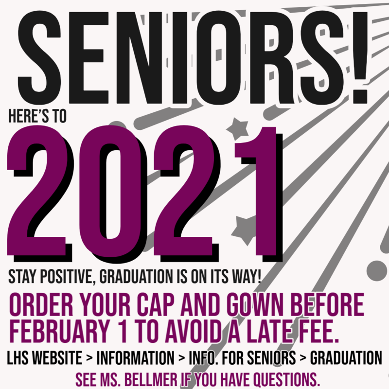 Senior Cap and Gown Order