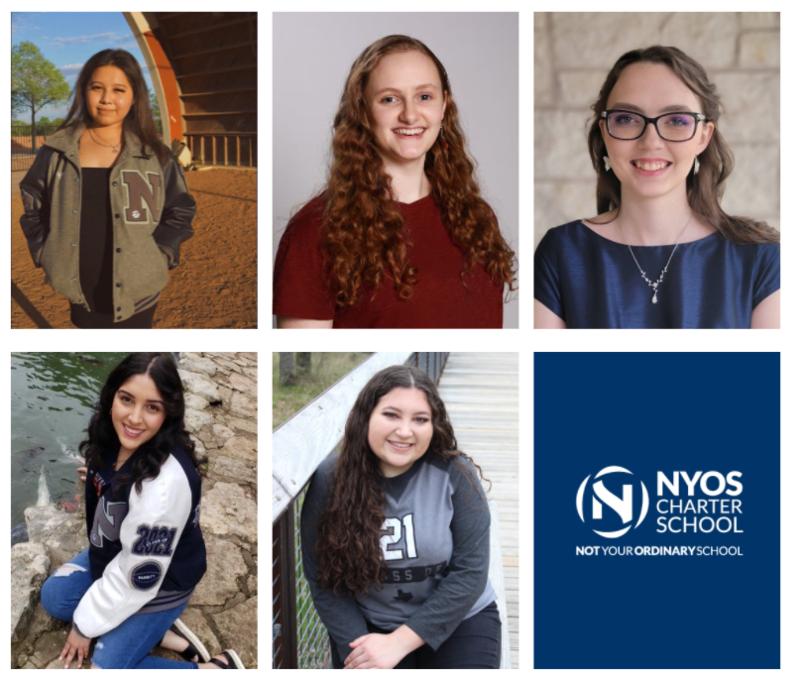 Photos of scholarship winners