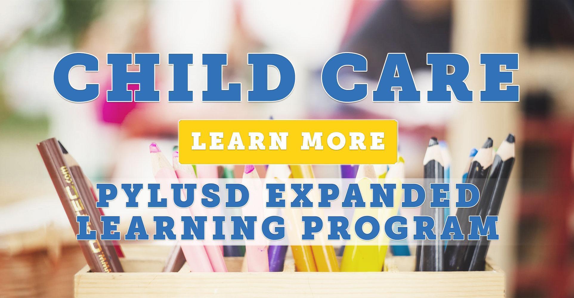 Child Care Announcement
