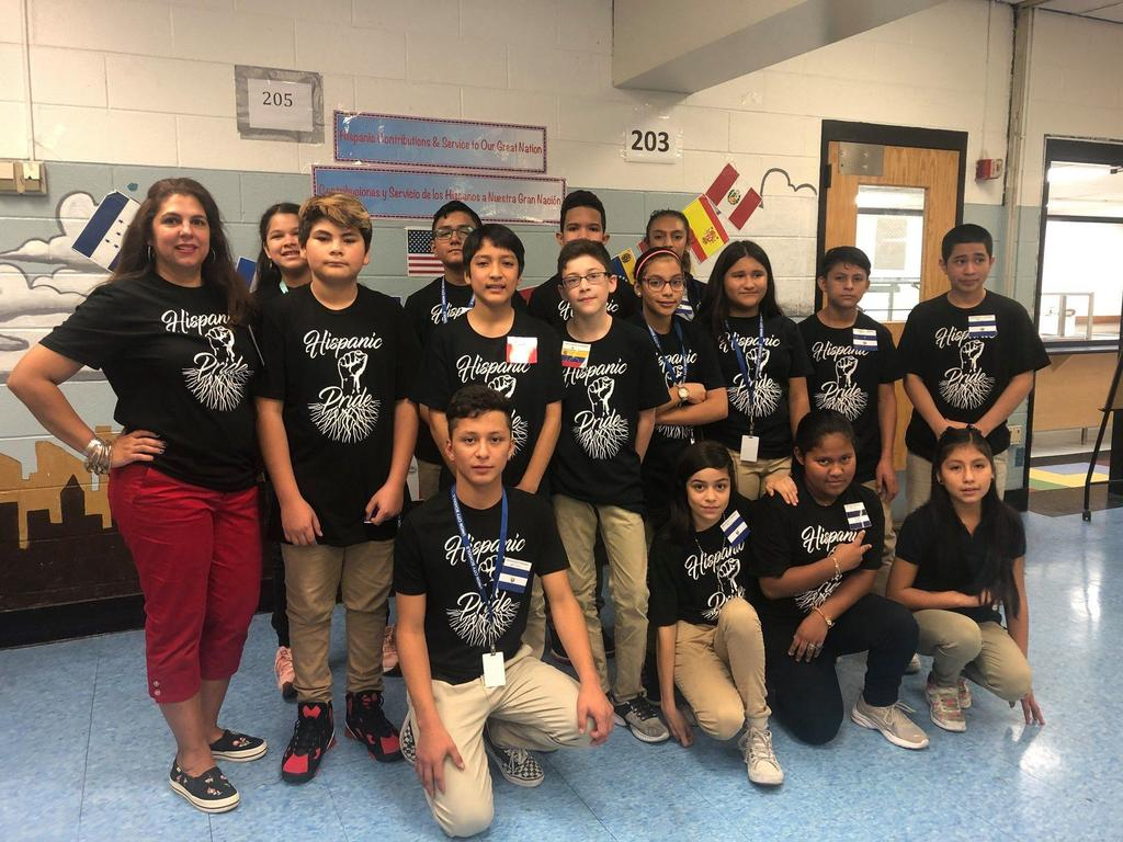 Mrs. Camacho and her class