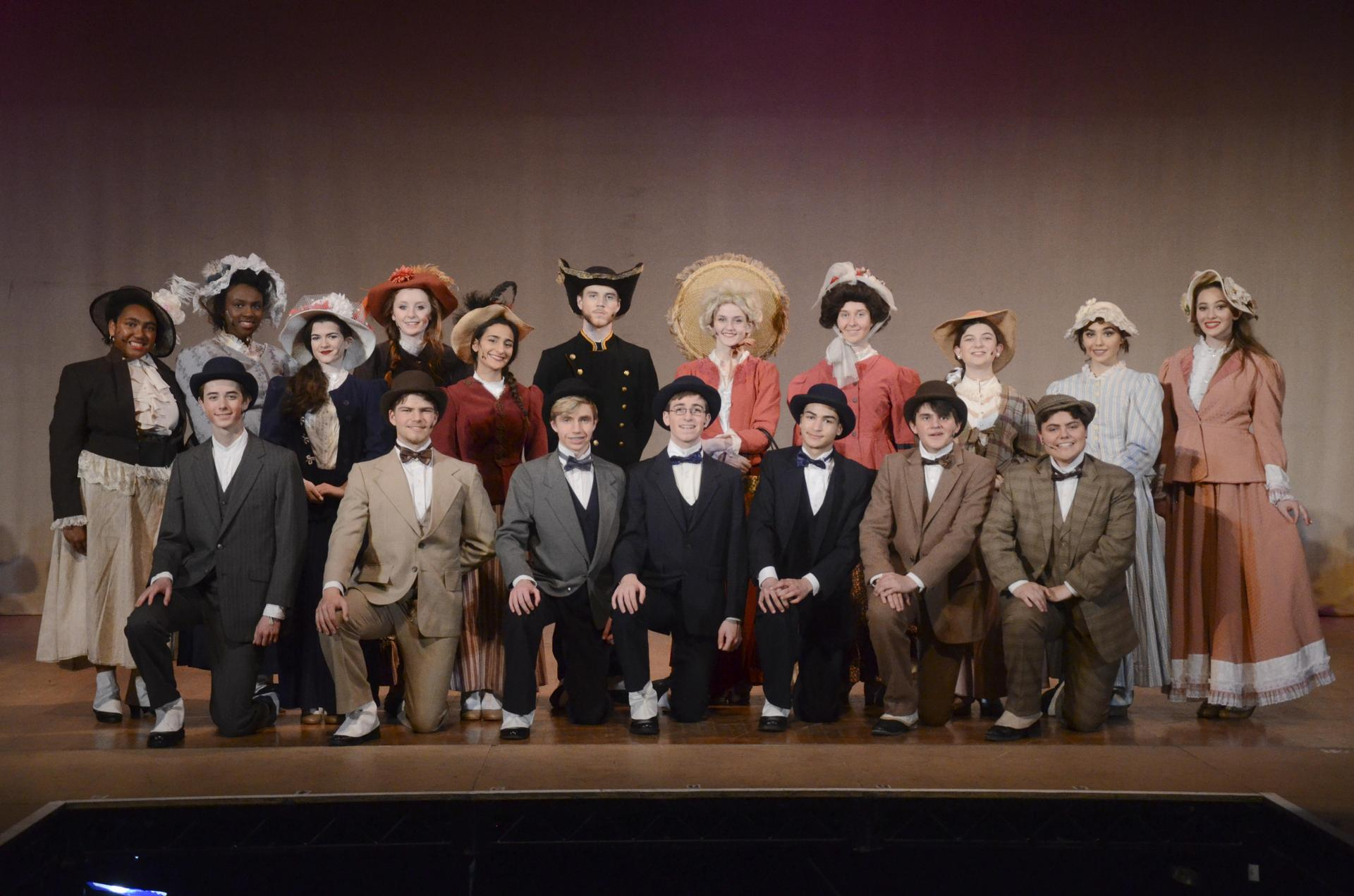 The cast of 'Hello, Dolly!' our spring musical for 2019.