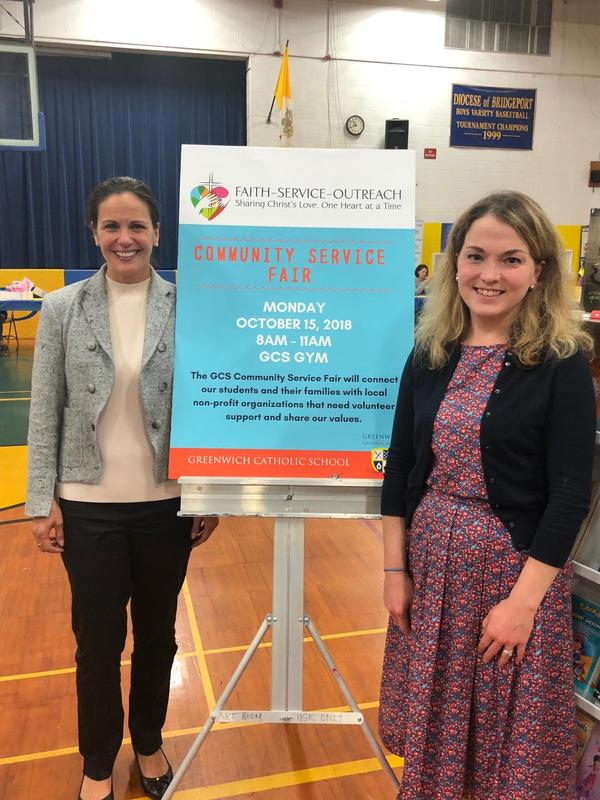 Greenwich Catholic School Holds Community Service Fair Thumbnail Image