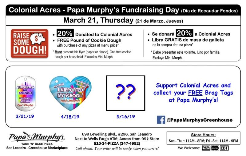Papa Murphy's Pizza Fundraising Day Featured Photo