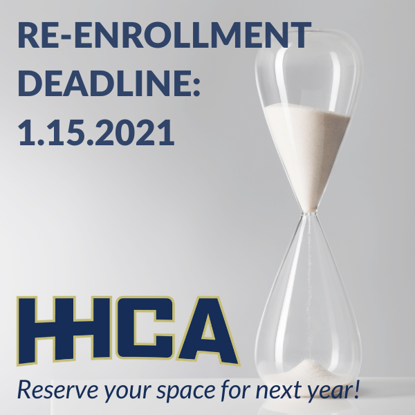 Re-Enrollment Deadline THIS Friday, January 15! Featured Photo