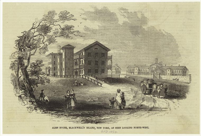 Alms House, Blackwell's Island, New York